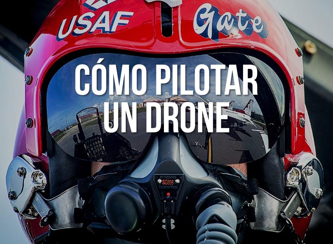 pilotar drone seguro de drones